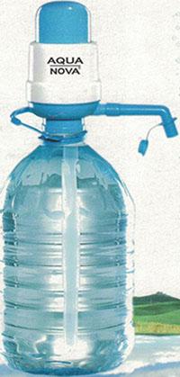 Ръчна помпа за бутилирана вода