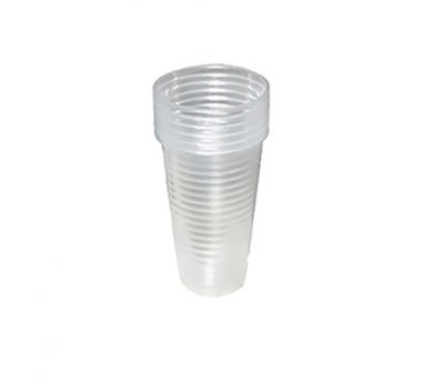 Plastic cup for water